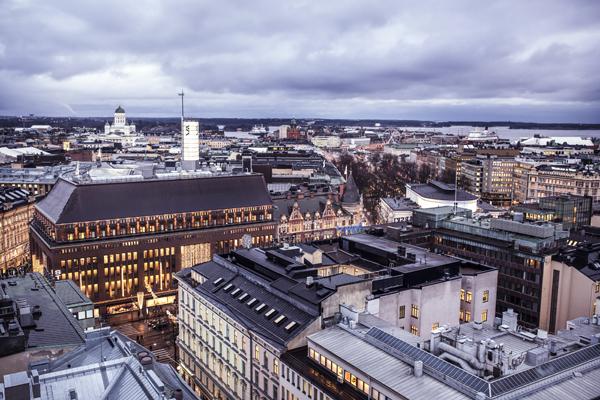 Хельсинки вид в центре